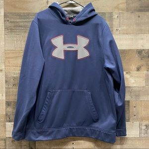Under Armour Storm Loose Hoodie Sweatshirt XL Logo